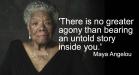 Maya Angelou Agony 3
