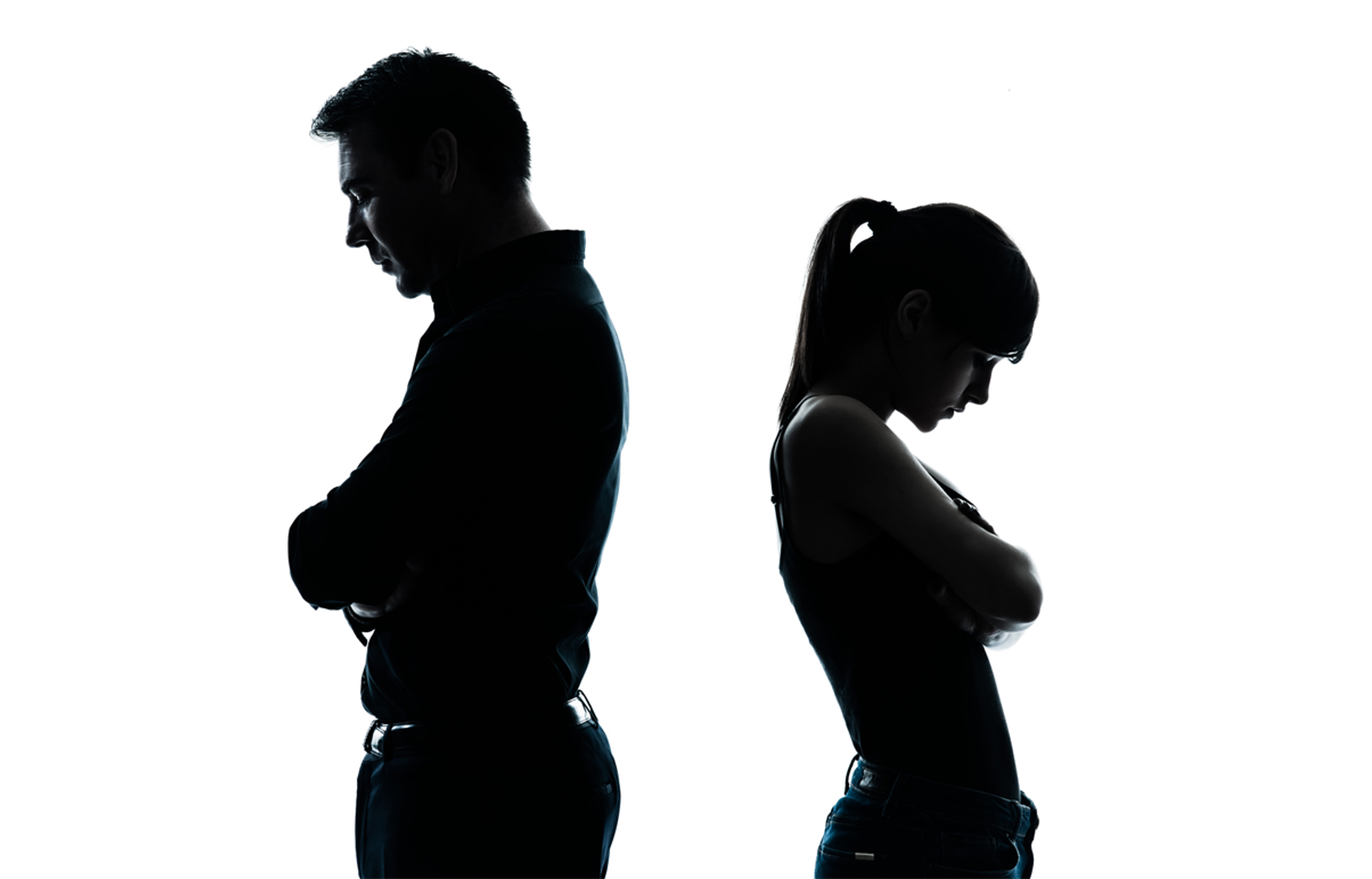 In a relationship with a depressed man